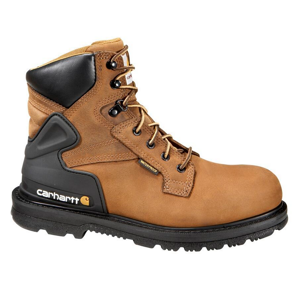 """Carhartt CMW6120 Men/'s 6/"""" Non-Safety Toe Work Boots Waterproof Breathable Shoes"""